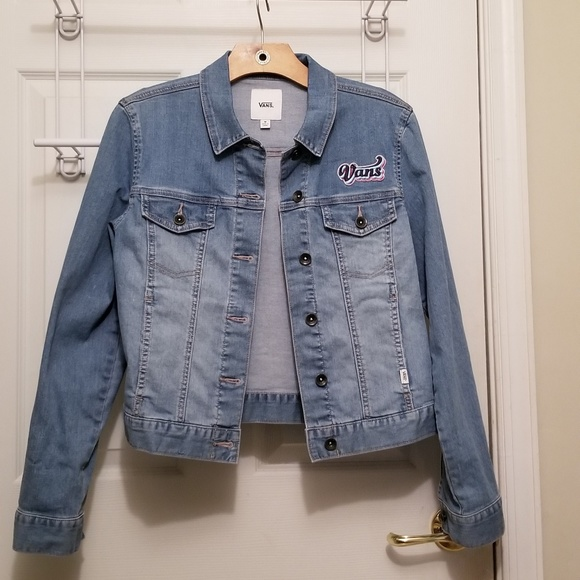 5210259e39 Van s womens denim jacket